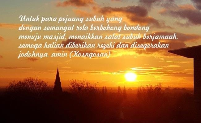 quotes kata pejuang subuh