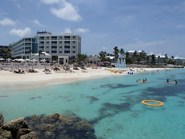 Sandals beach and watersports area