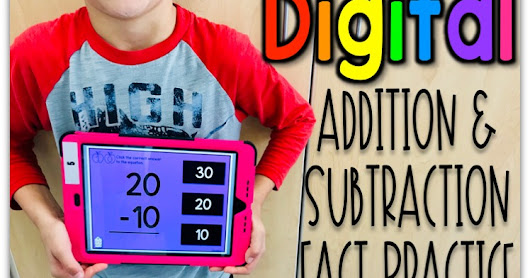 Digital Addition & Subtraction Fact Practice