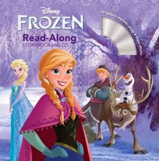frozen read-along cover