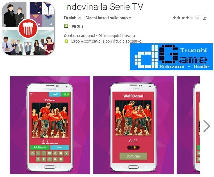 Indovina la Serie TV soluzione livello 31 32 33 34 35 36 37 38 39 40