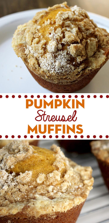 Pumpkin Streusel Muffins Fresh From The