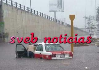 Se inunda el puerto de Veracruz ante lluvias