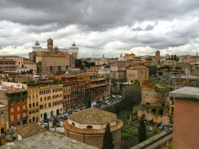 Monte Palatino, Roma - betitu Marzo 2013