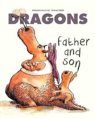 Dragons: Father and Son - a bookwrap