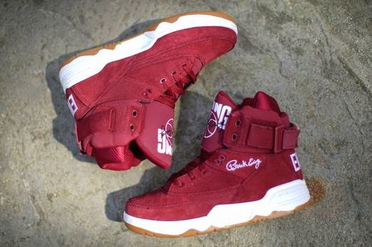 sneakers for cheap 96ebc 1a48a Ewing Athletics 33 Hi Burgundy Sneaker Available Now (Images)