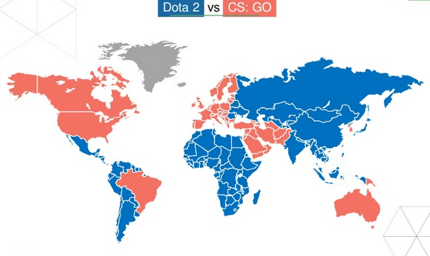 Dota 2 vs CS:GO