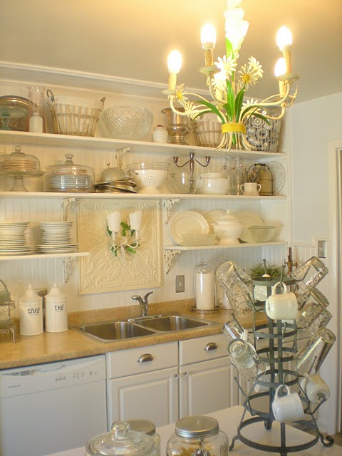 A Mother's Life: Lovely (Inexpensive) Kitchen Remodel