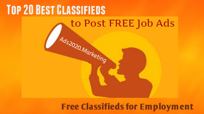 Online Job Posting- What are 20 Best Classifieds Websites to Post