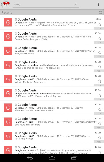 Google Alerts-Snapshot