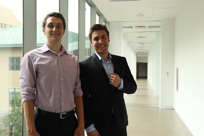Gabriel Arpino and Kyle Morris at Carnegie Mellon Robotics Institute