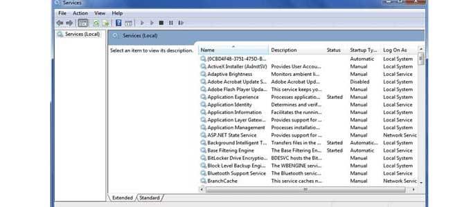Setting Sistem Windows