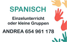 Privat Spanisch und Deutsch lernen mit Andrea