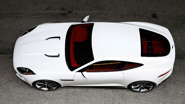 Jaguar C-X16 Concept side up