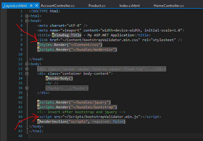 insert-bootstrap-validator
