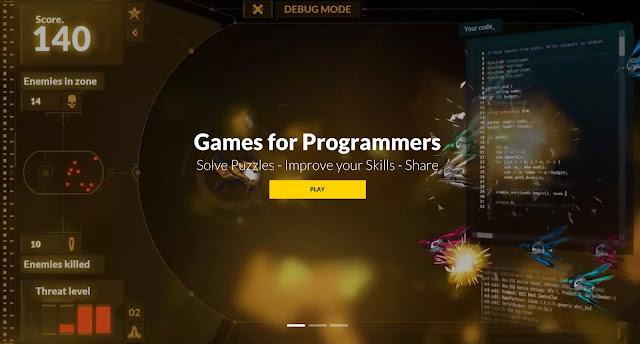 تعلم البرمجة عن طريق اللعب مع  هذا الموقع الرائع