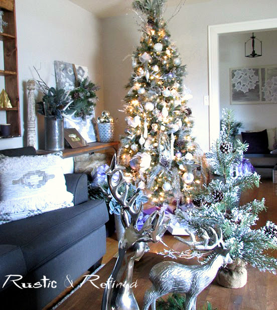Christmas Decorating on a budget but with high style.
