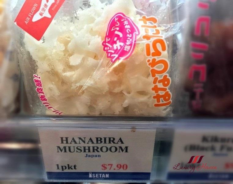 singapore isetan scotts hanabira mushroom