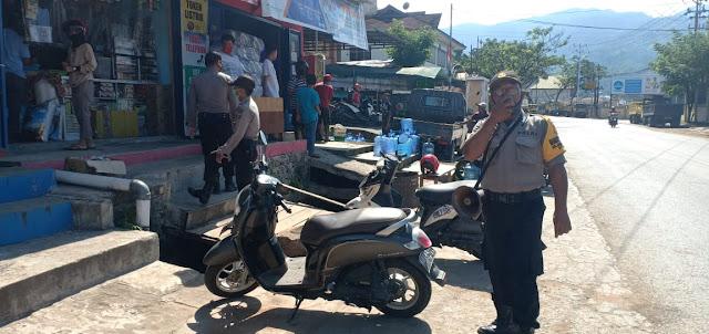 Marthen Saraba Himbau Warga Seputaran Pelabuhan Laut Jayapura Taati Instruksi Pemerintah