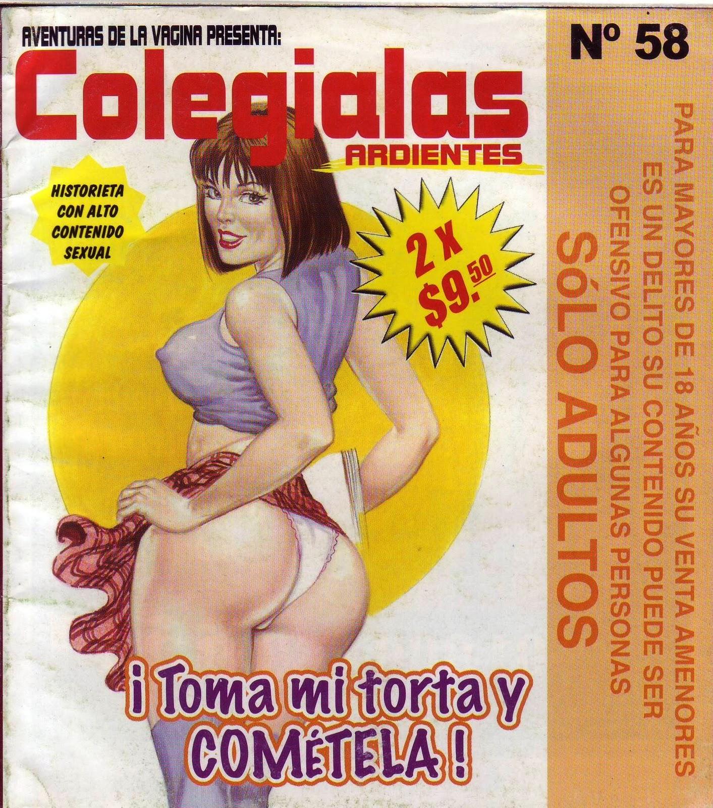 Colejialas ardientes