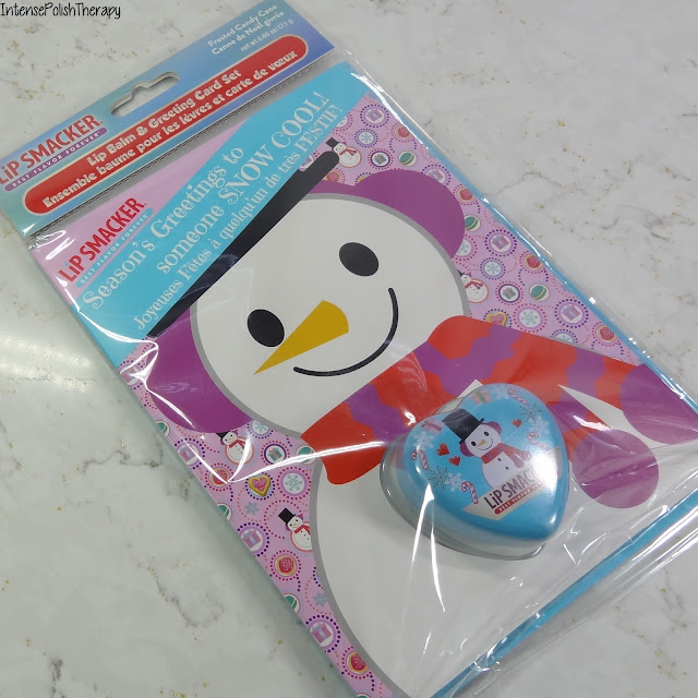 Lip Smacker - Snowman Greeting Card