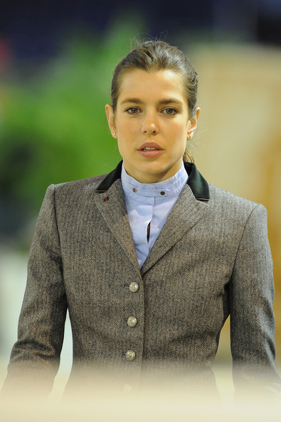 Charlotte Casiraghi and Princess Caroline attends the Masters Grand Slam competition of the Gucci Paris Masters 2012
