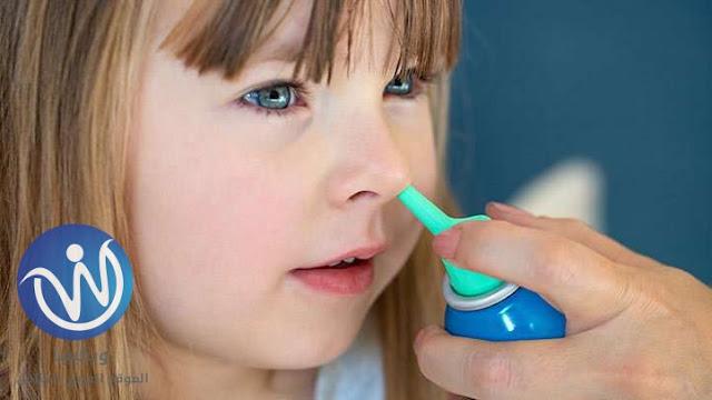طريقة تنظيف الانف بالماء والملح للاطفال