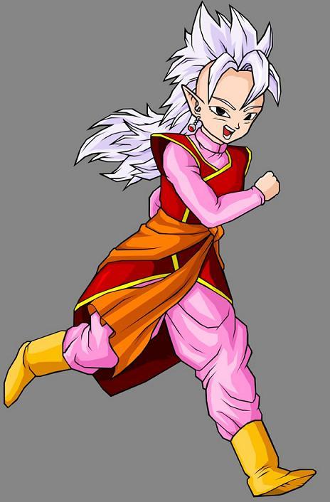 Western Supreme Kai 西の界王神 Nishi No Kaiôshin Was The Ruler Of Quadrant Universe Only Female