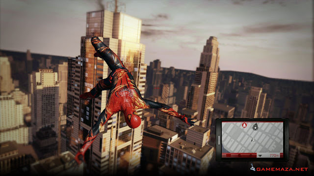 The Amazing Spiderman Gameplay Screenshot 3