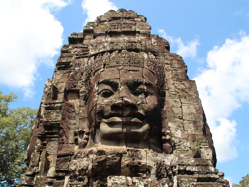 Bayon Sonrisa Buda