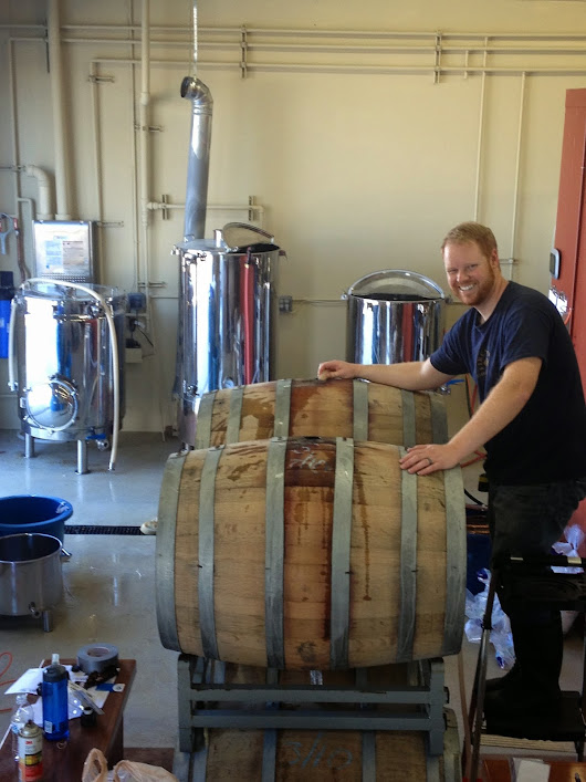 Bikes, Beer, and Adventures: Barrel Filling Brew Day at Council Brewing