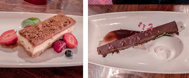 Miller and Carter Desserts