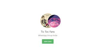 Tic toc whatsapp group