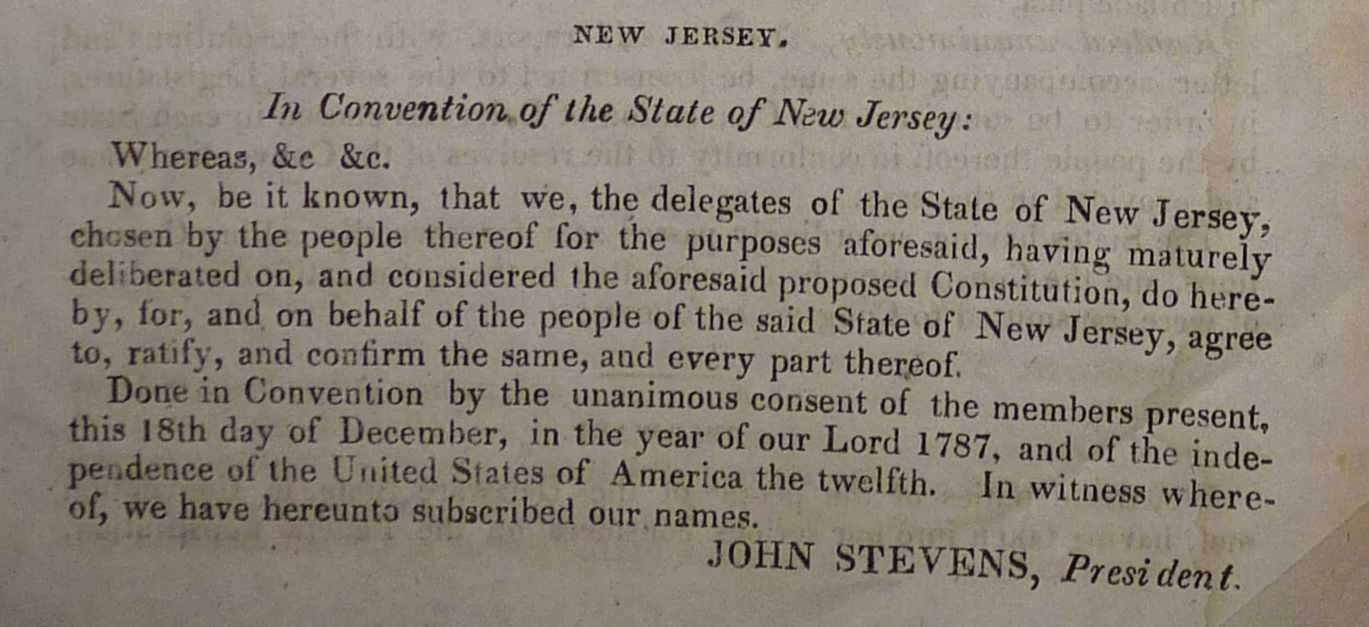 an analysis of the constitution of new jersey united states Constitution of new jersey - 1844  every white male citizen of the united  states, of the age of twenty-one years, who  duty to assist the legislature in the  annual examination and settlement of said accounts, until otherwise provided by  law.