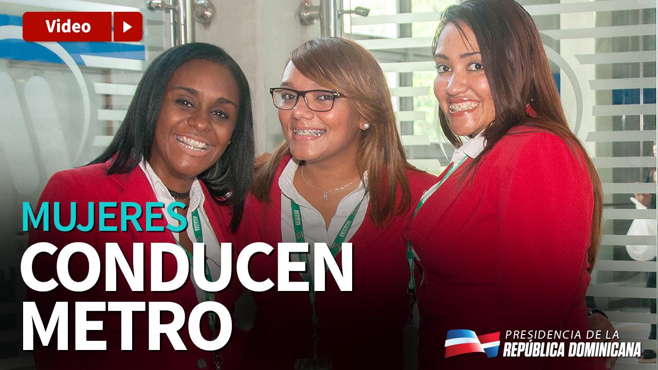 VIDEO: Mujeres conducen Metro