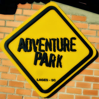 Logomarca do Adventure Park, em Lages