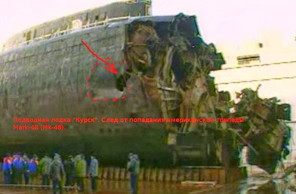 History of Russia: Submarine Kursk  Сauses