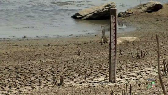 Castanhão registra o menor volume de água da história