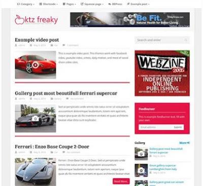 Tema Wordpress Terbaik Tercepat Fast Loading Gratis Free Download 2019