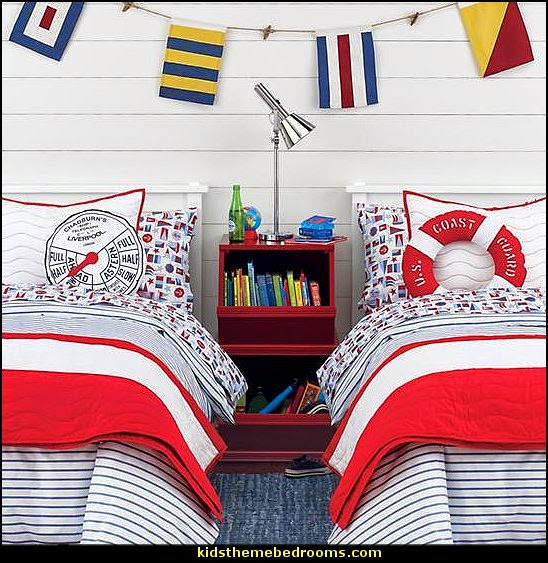 Decorating theme bedrooms - Maries Manor: row boat beds