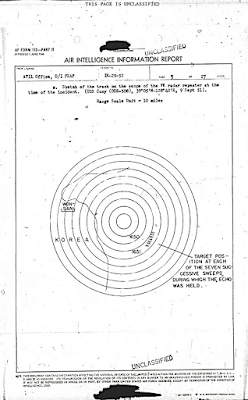 UFO Radar Sketch IR-29-52 (6-25-1952)