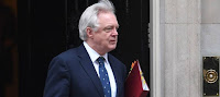 DAVID DAVIS 'TO HEAP PRESSURE ON THERESA MAY' OVER BREXIT WHITE PAPER DELAYS