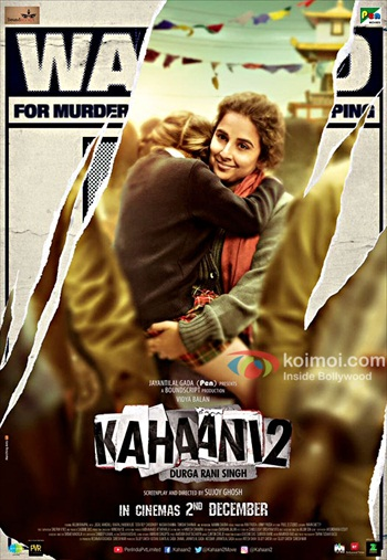 Kahaani 2 2016 Hindi pDVDRip x264 900MB