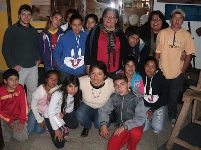 Ichoalay, Visitas, Chaco, 2015, Escuelas