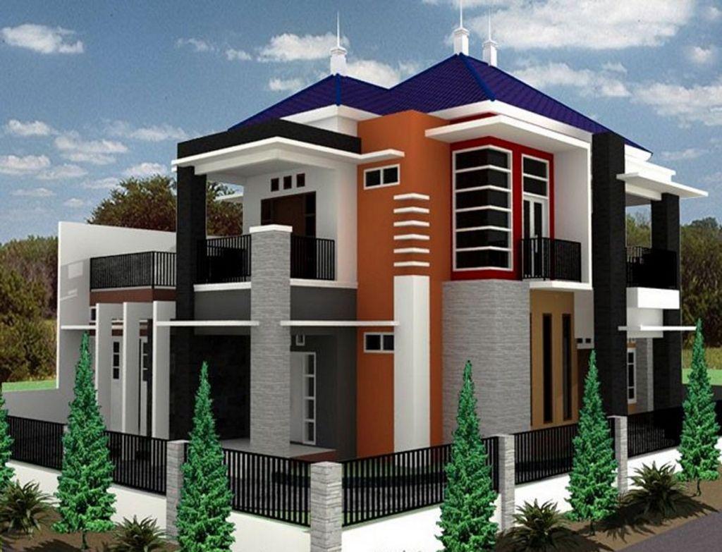 Desain Rumah Mewah Modern Populer