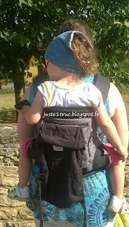 review test avis Ergobaby Performance filet portage babywearing préformé porte-bébé truc juste