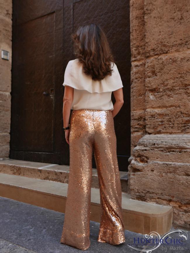 hunterchic by marta-marta halcón de villavicencio-como llevar pantalón glitter-que me pongo