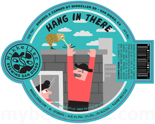 Mikkeller San Diego Adding Saw Delight, Hang In There & Hum At Me Bro!