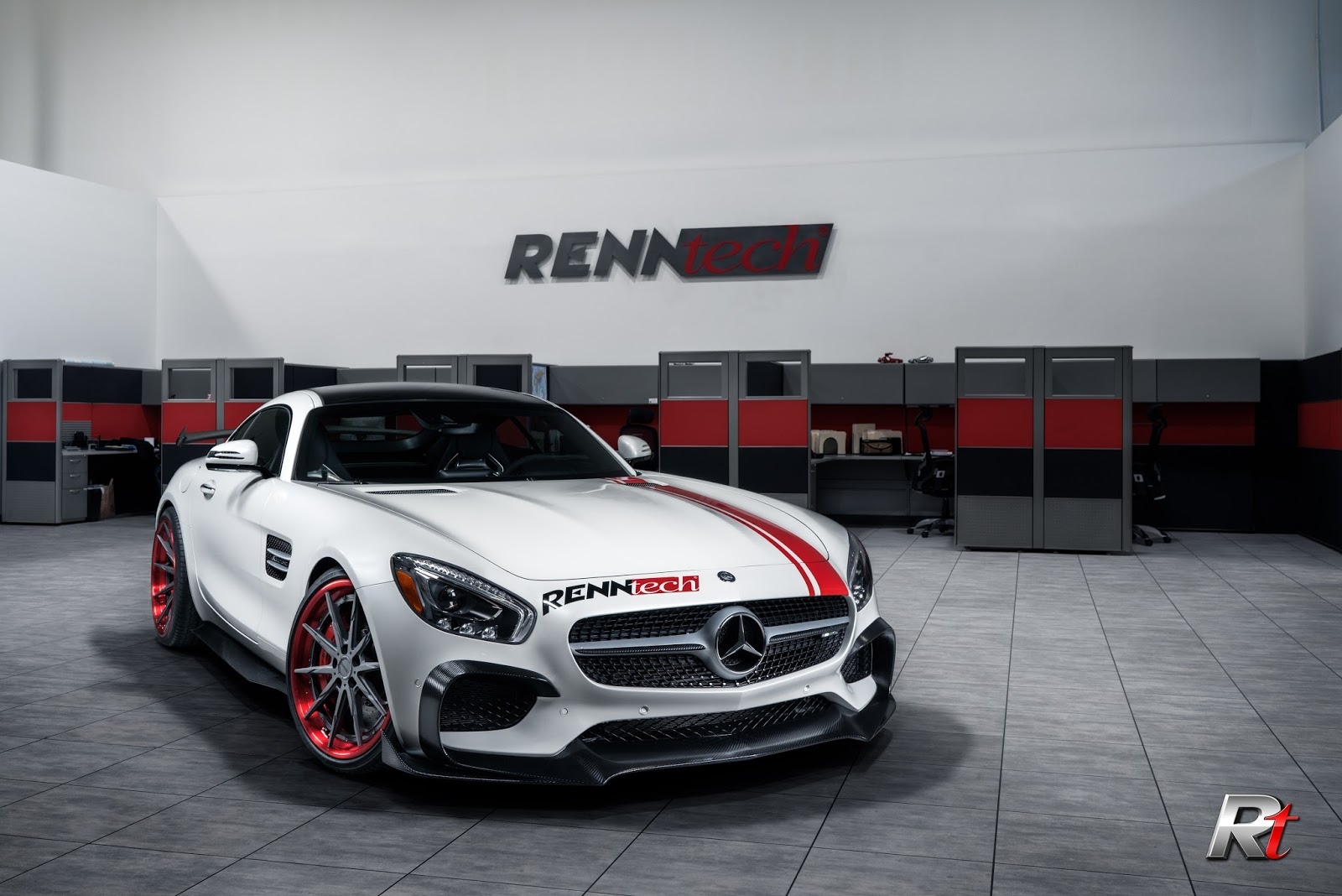 Renntech Boosts Mercedes AMG GT S To 716 hp