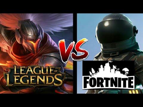 Fortnite CASI triplica las visualizaciones de League of legends en abril.
